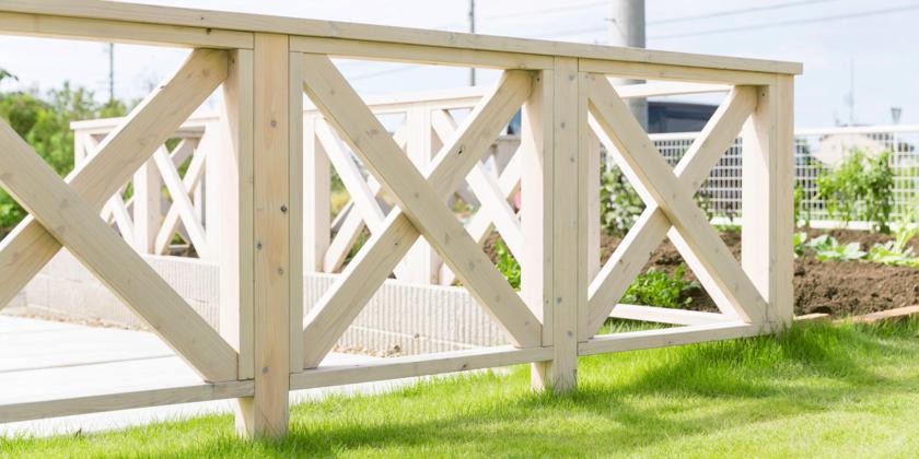 フェンス、ガーデン、庭