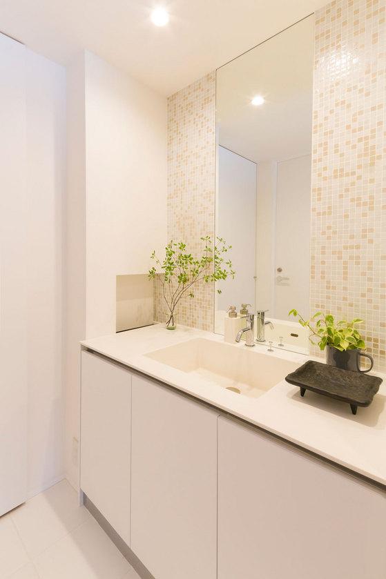 洗面所、デザイン、リフォーム