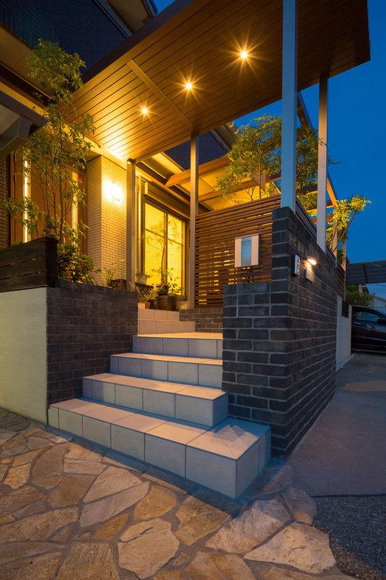 ガーデン、庭、外構、ライティング