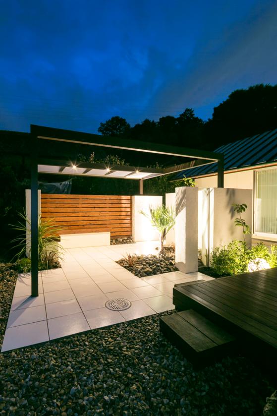 ガーデン、庭、ライティング