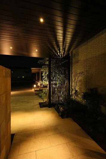 夜景、外構、デザイン、リフォーム