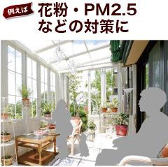 花粉・PM2.5などの対策に