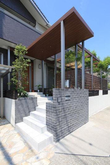 ガーデン、庭、エクステリア、外構